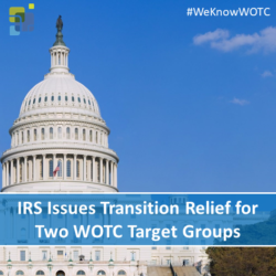 IRS Issues Transition Relief for Two WOTC Target Groups