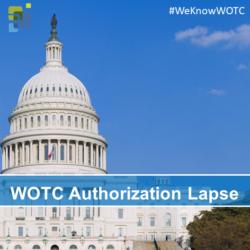 WOTC Authorization Lapse