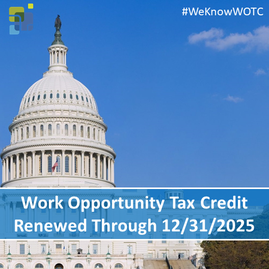 Work Opportunity Tax Credit Renewed 2025