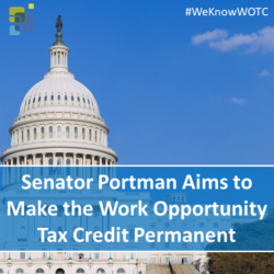 Senator Portman Aims to Make the Work Opportunity Tax Credit Permanent